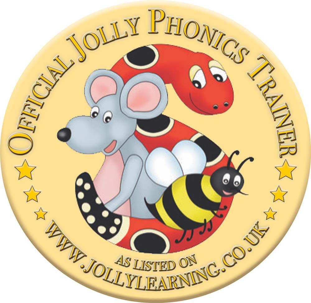 Jolly Phonics Certification Badge